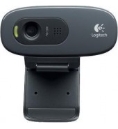 Logitech Webcam C270 HD black