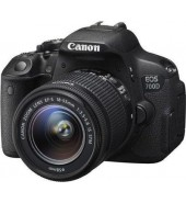 Фотоаппарат Canon EOS 700D KIT (18-55)  IS STM , black